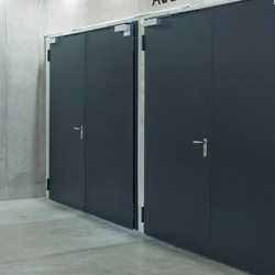 Industrial Acoustic Metal Doors from Ecotone Systems