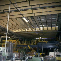 Industrial Hangning Baffles from Ecotone Systems