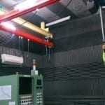 NVH Test cell at Car. Mfg.co.