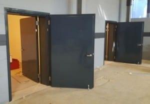 Steel Acoustic fire Doors