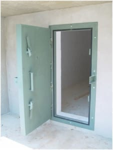 Blast Proof Doors