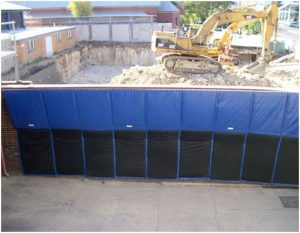 Construction Site Noise control Barriers