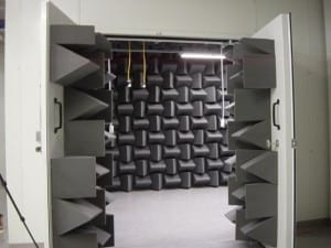 Ecotone Ssytems-Test-Chamber-with-Anechoic-Foam-Wedges