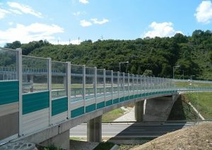 Highway Transparent Noise Barriers