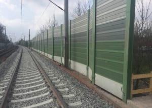 Railraod Noise Barrier