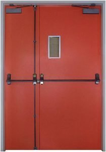 Industrial Steel Fire Door