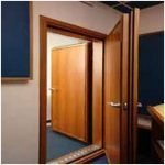Wooden Acoustic Fire Doors
