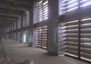 Acoustic Louvers panels