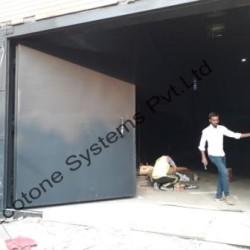 steel sound proof door