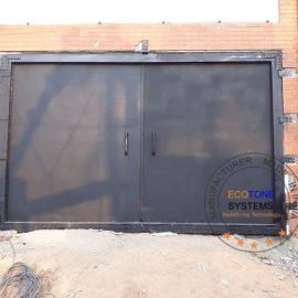 soundproof metal doors
