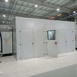 Acoustic Enclosure for Hyundai car plant